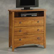 Sauder Rose Valley Highboy TV Stand