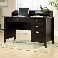 Sauder Shoal Creek Hutch Computer Desk