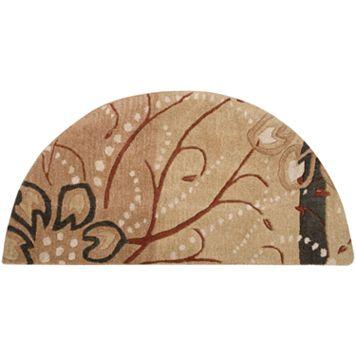 Surya Athena Floral Rug - 24'' x 48'' Half Moon