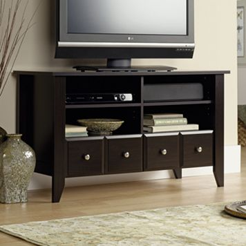 Sauder Shoal Creek Panel TV Stand