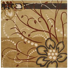 Surya Athena Floral Rug - 6' Square