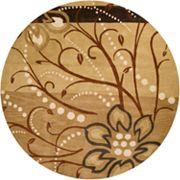 Surya Athena Floral Rug - 8' Round