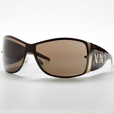 XOXO Wild Cat Animal Wrap Sunglasses