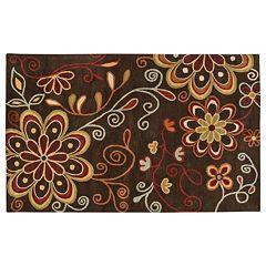 Surya Athena Floral Print Rug