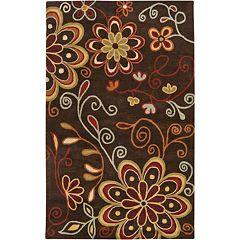 Surya Athena Floral Rug - 6' x 9'
