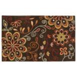 """Surya Athena Chocolate Floral Rug - 7'6"""" x 9'6"""""""