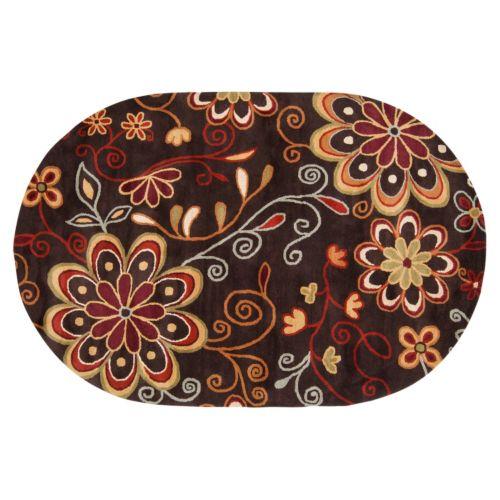 Surya Athena Floral Rug - 8' x 10' Oval