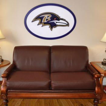Baltimore Ravens 46-inch Carved Wall Art