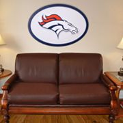 Denver Broncos 46-inch Carved Wall Art