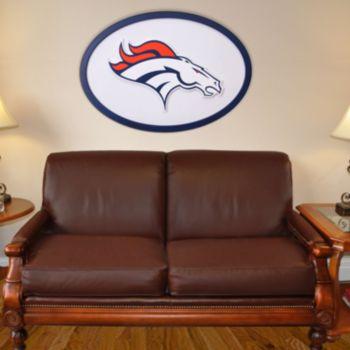 Denver Broncos 46-inch Carved Wall Art