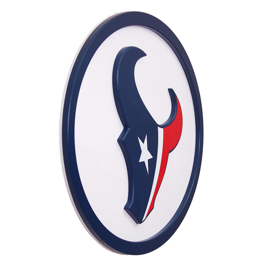 Houston Texans 46-inch Carved Wall Art