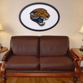 Jacksonville Jaguars 46-inch Carved Wall Art