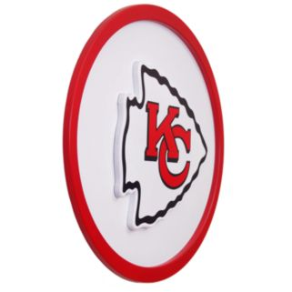 Kansas City Chiefs 46-inch Carved Wall Art