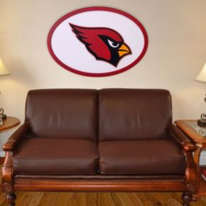 Arizona Cardinals 46-inch Carved Wall Art