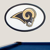 Los Angeles Rams 46-inch Carved Wall Art