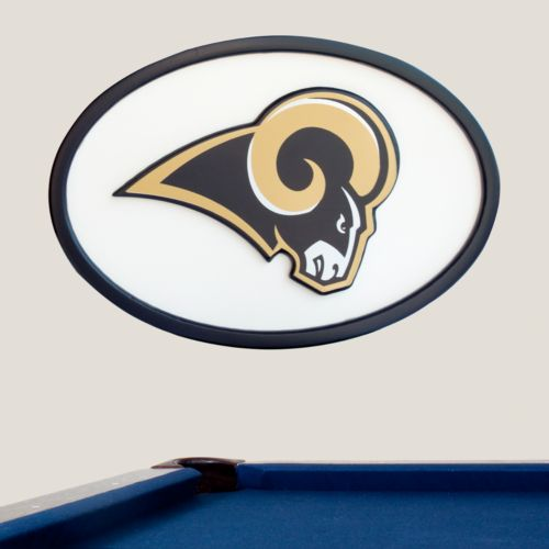 St. Louis Rams 46-inch Carved Wall Art