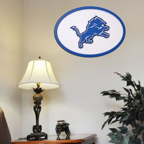 Detroit Lions 31-inch Carved Wall Art