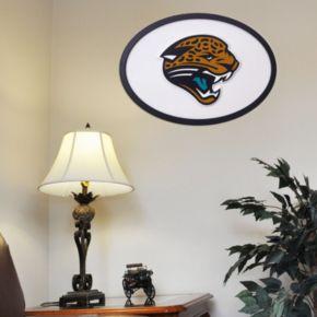 Jacksonville Jaguars 31-inch Carved Wall Art