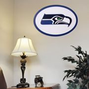 Seattle Seahawks 31-inch Carved Wall Art