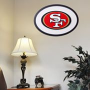San Francisco 49ers 31-inch Carved Wall Art
