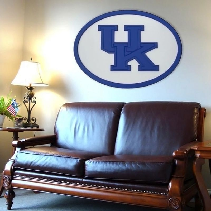 Kentucky Wildcats 46-inch Carved Wall Art