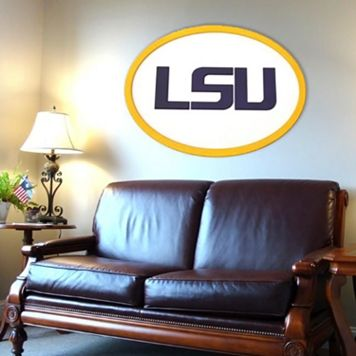 LSU Tigers 46-inch Carved Wall Art