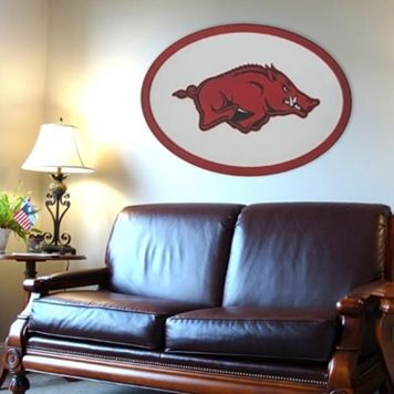 Arkansas Razorbacks 46-inch Carved Wall Art