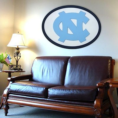 North Carolina Tar Heels 46-inch Carved Wall Art