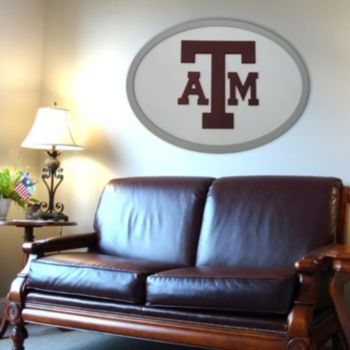 Texas A and M Aggies 46-inch Carved Wall Art