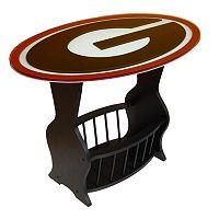 Georgia Bulldogs End Table