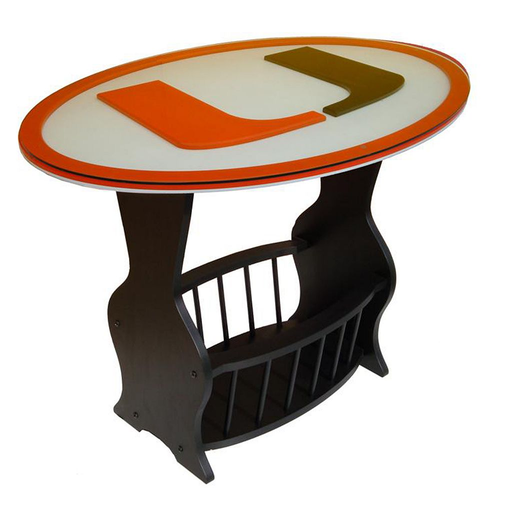 Miami Hurricanes End Table