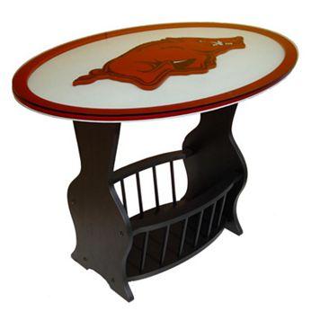 Arkansas Razorbacks End Table