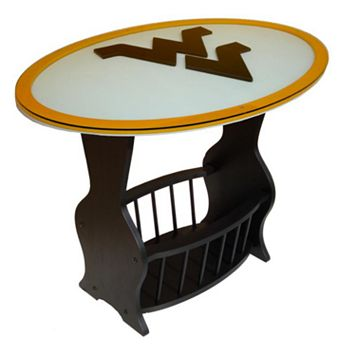 West Virginia Mountaineers End Table