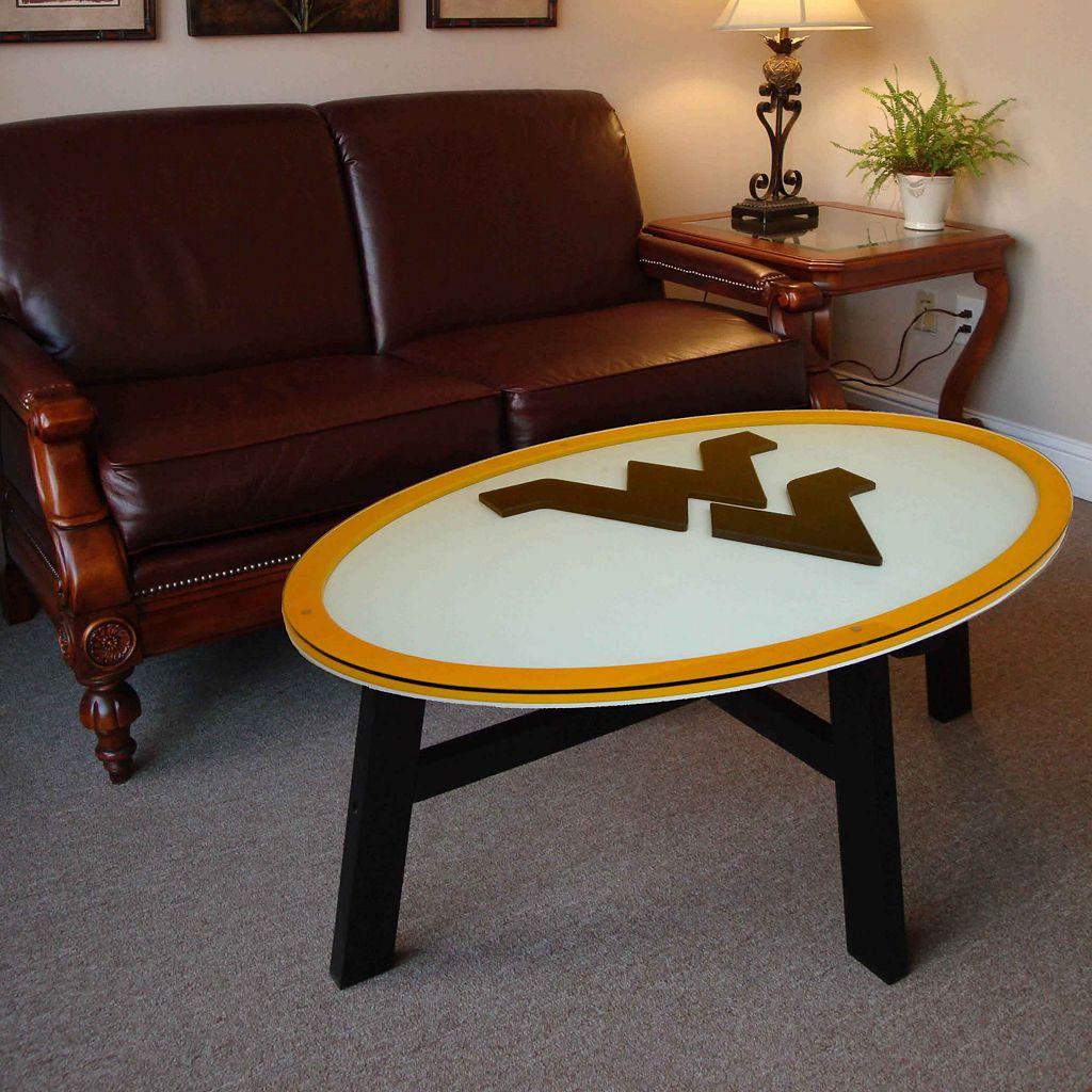 West Virginia Mountaineers Coffee Table