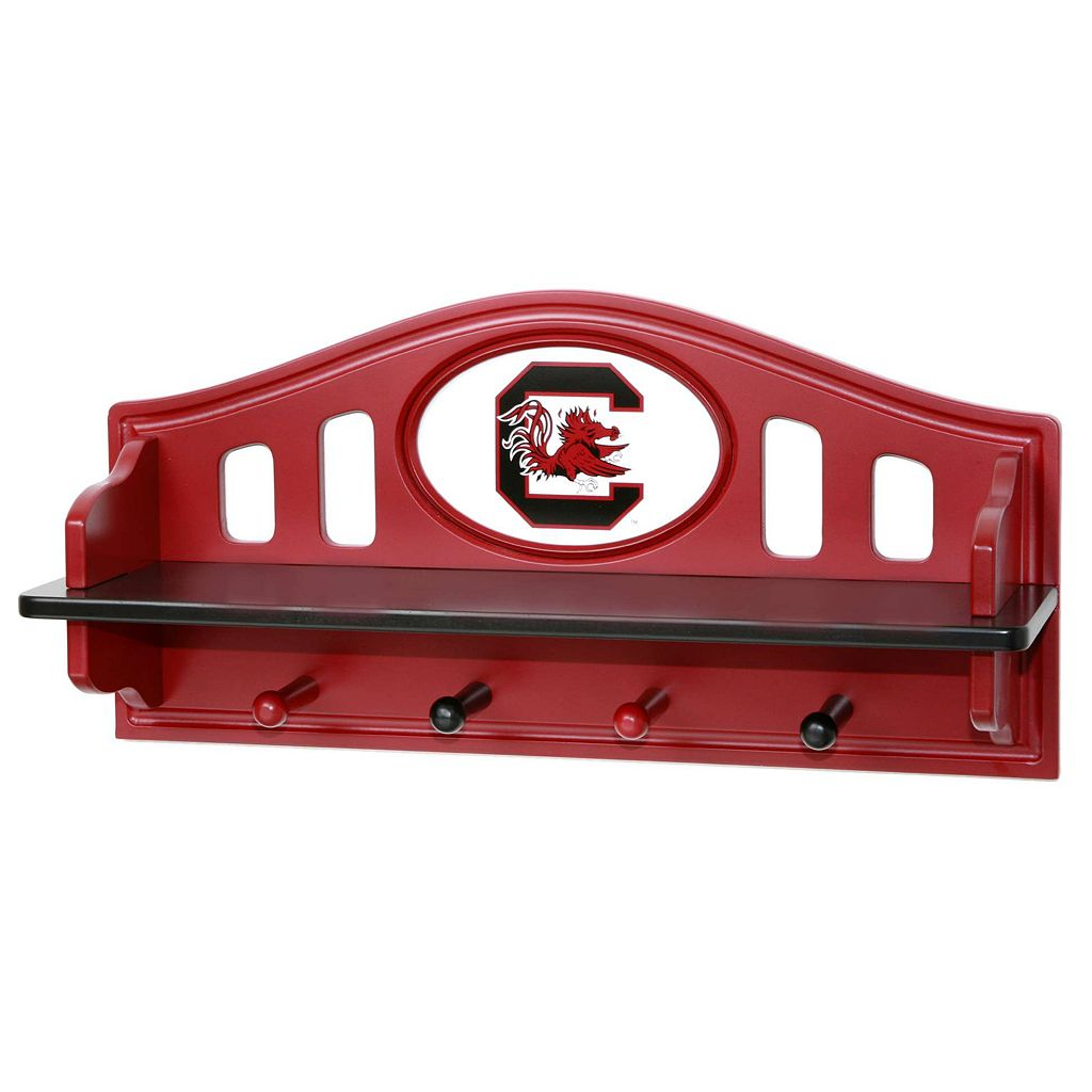 South Carolina Gamecocks Wooden Shelf