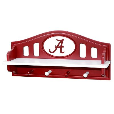Alabama Crimson Tide Wooden Shelf