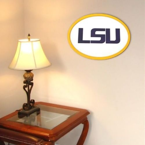 LSU Tigers 31-inch Carved Wall...