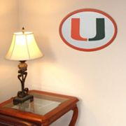 Miami Hurricanes 31-inch Carved Wall Art