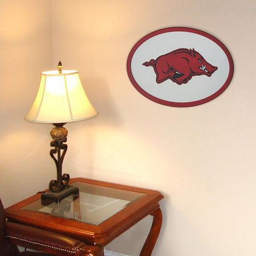 Arkansas Razorbacks 31-inch Carved Wall Art