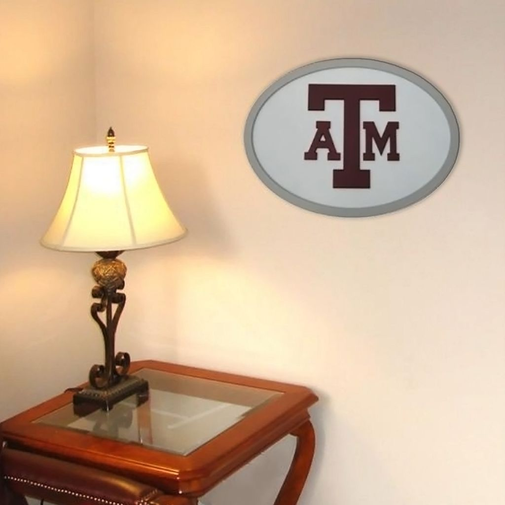 Texas A&M Aggies 31-inch Carved Wall Art