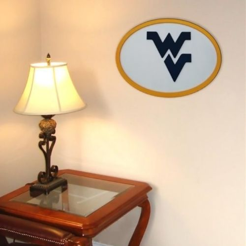 West Virginia Mountaineers 31-inch Carved Wall Art