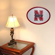 Nebraska Cornhuskers 31-inch Carved Wall Art