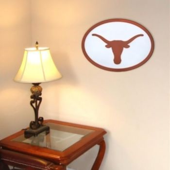 Texas Longhorns 31-inch Carved Wall Art