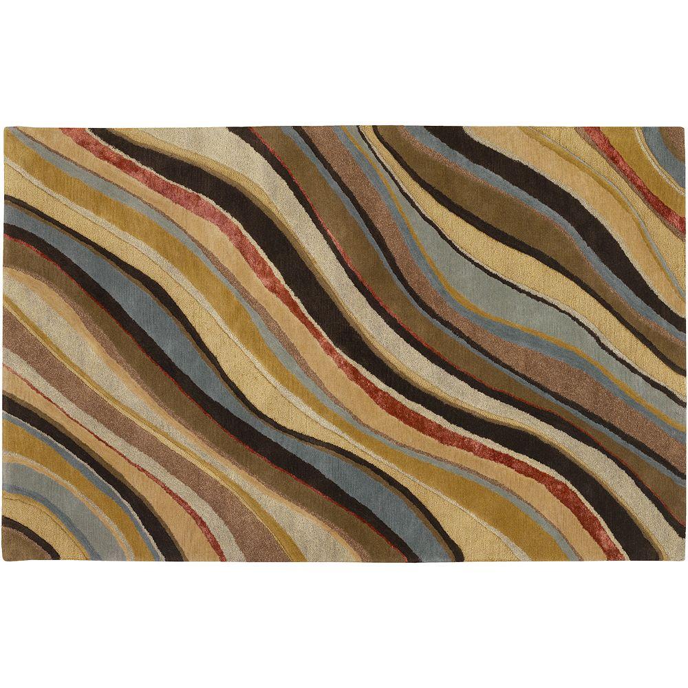 Decor 140 Artist Studio Striped Wool Blend Rug - 24'' x 36''