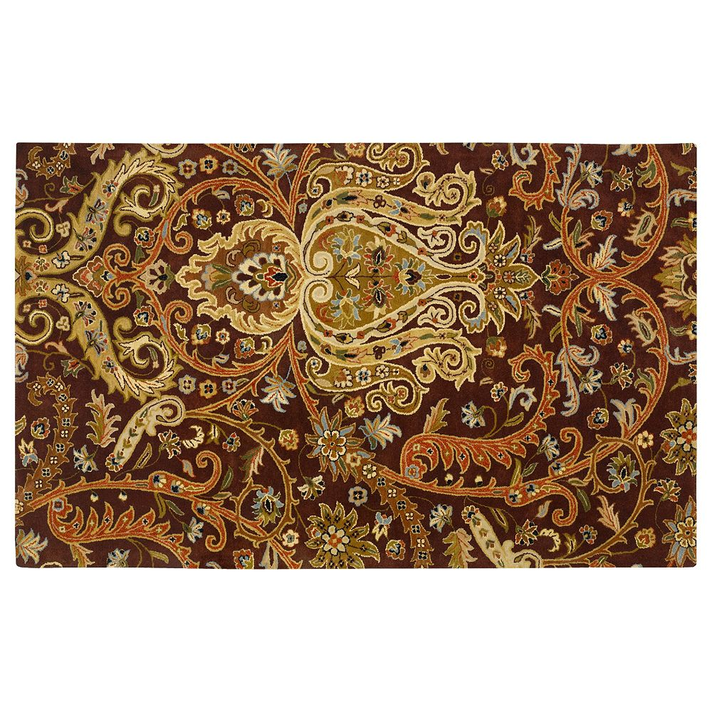 Decor 140 Ancient Treasure Floral Paisley Rug