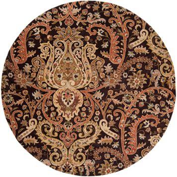 Surya Ancient Treasure Floral Paisley Rug - 8' Round