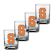 Syracuse Orange 4-pc. Rocks Glass Set