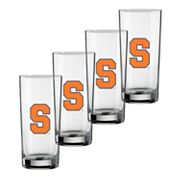 Syracuse Orange 4-pc. Pint Glass Set