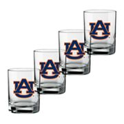 Auburn Tigers 4-pc. Rocks Glass Set