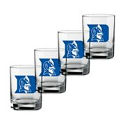 Duke Blue Devils 4-pc. Rocks Glass Set